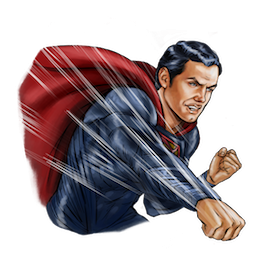 Batman V Superman Facebook sticker #11