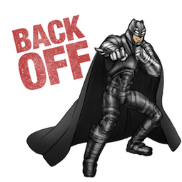 Batman V Superman Facebook sticker #12