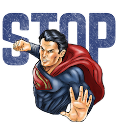 Batman V Superman Facebook sticker #13