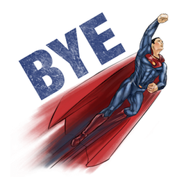 Batman V Superman Facebook sticker #16