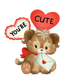 Be Mine Facebook sticker #14