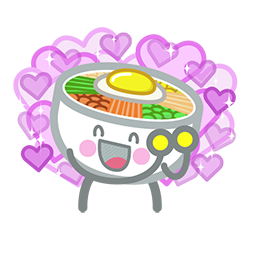 Amis de Bibimbap Facebook sticker #2
