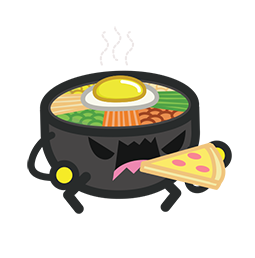Amis de Bibimbap Facebook sticker #3