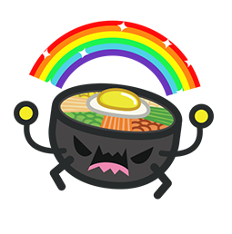 Amis de Bibimbap Facebook sticker #6