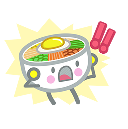 Amis de Bibimbap Facebook sticker #9