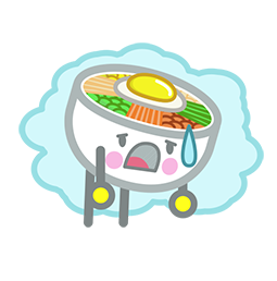 Amis de Bibimbap Facebook sticker #11