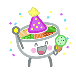 Amis de Bibimbap Facebook sticker #12