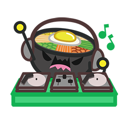 Amis de Bibimbap Facebook sticker #15
