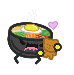 Amis de Bibimbap Facebook sticker #17
