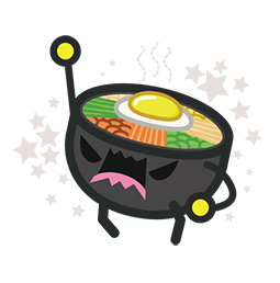 Amis de Bibimbap Facebook sticker #18