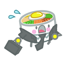 Amis de Bibimbap Facebook sticker #19