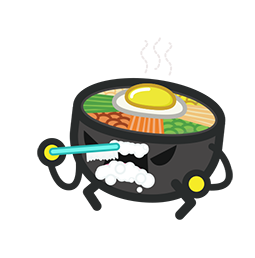 Amis de Bibimbap Facebook sticker #20