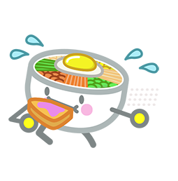 Amis de Bibimbap Facebook sticker #21