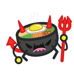 Amis de Bibimbap Facebook sticker #24