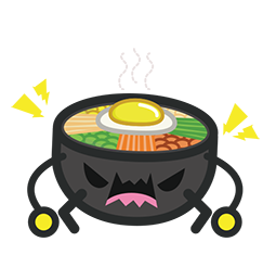 Amis de Bibimbap Facebook sticker #26