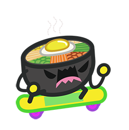 Amis de Bibimbap Facebook sticker #30