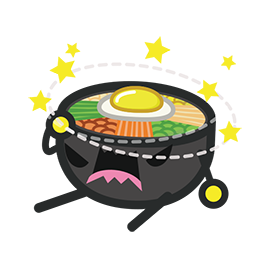Amis de Bibimbap Facebook sticker #32