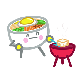 Amis de Bibimbap Facebook sticker #36
