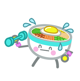 Amis de Bibimbap Facebook sticker #38