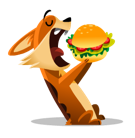 Biscuit Facebook sticker #18