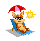 Biscuit Facebook sticker #19