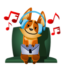 Biscuit Facebook sticker #26