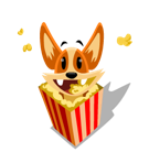 Biscuit Facebook sticker #34