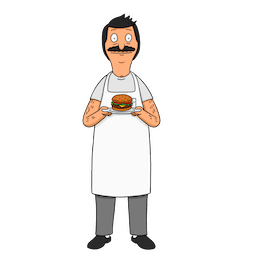 Bob`s Burgers Facebook sticker #17
