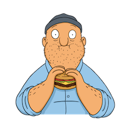 Bob`s Burgers Facebook sticker #19