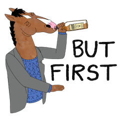 Facebook BoJack Horseman stickers