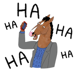 BoJack Horseman Facebook sticker #3