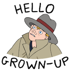 Facebook / Messenger BoJack Horseman sticker #5