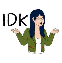 BoJack Horseman Facebook sticker #6