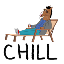BoJack Horseman Facebook sticker #13