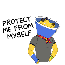 BoJack Horseman Facebook sticker #17
