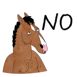 BoJack Horseman Facebook sticker #18