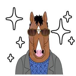 BoJack Horseman Facebook sticker #20