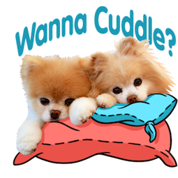 Boo und Buddy Facebook sticker #8