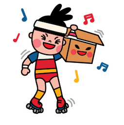 Box Girl Facebook sticker #2
