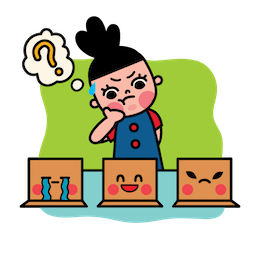 Box Girl Facebook sticker #3