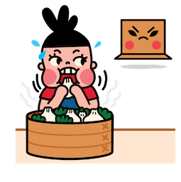 Box Girl Facebook sticker #4