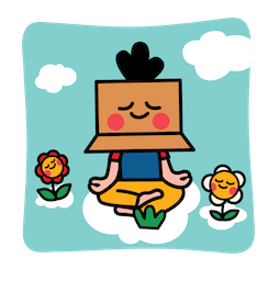 Box Girl Facebook sticker #6