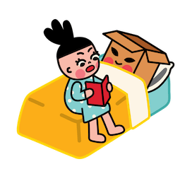 Facebook / Messenger Box Girl Sticker #8