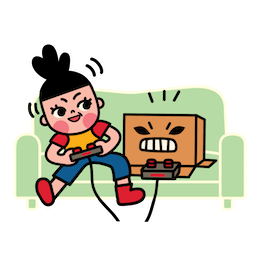 Box Girl Facebook sticker #11