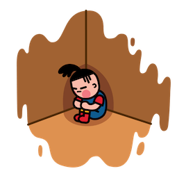 Box Girl Facebook sticker #12