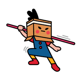 Box Girl Facebook sticker #16