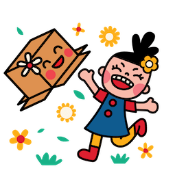 Box Girl Facebook sticker #17