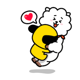 BT21 : Un charme fou Facebook sticker #1