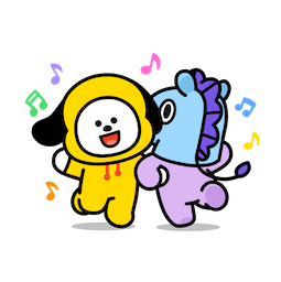 BT21 – Unwiderstehlich charmant Facebook sticker #3
