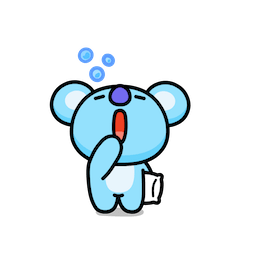 BT21 – Unwiderstehlich charmant Facebook sticker #5